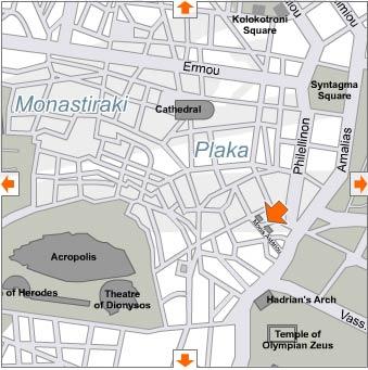 Frissiras Museum Map -