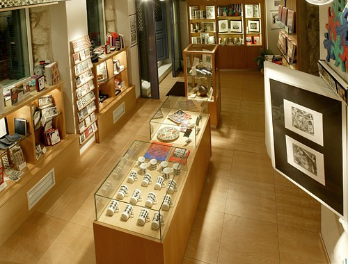 View from the Museum Shop -