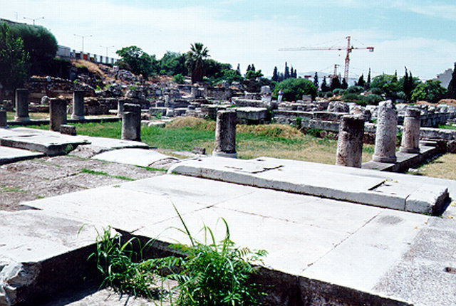 VIEW OF KERAMEIKOS -