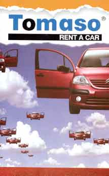 TOMASO RENT A CAR IN  50A, Nikis Str. Syntagma