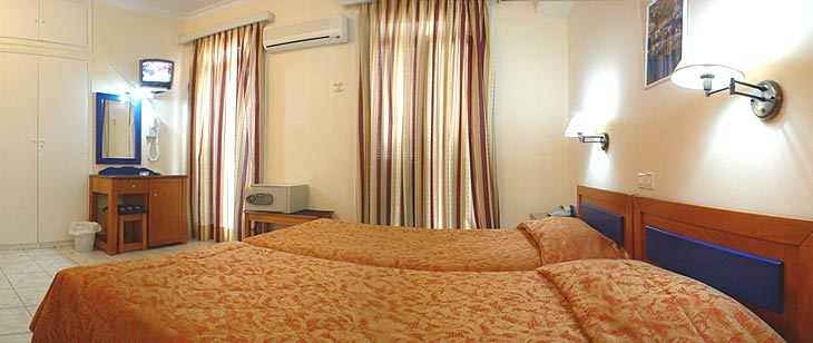 DOUBLE ROOM (TWIN BEDDED ROOMS) CLICK TO ENLARGE