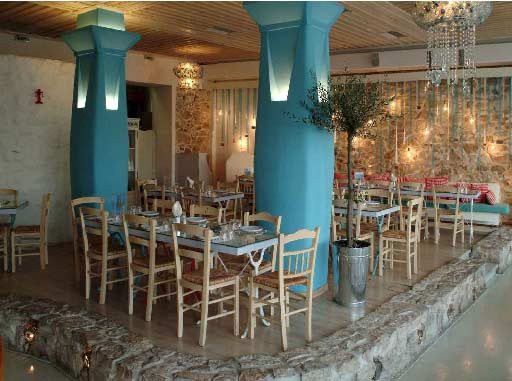Ammos restaurants in mikrolimano greece for Ammos authentic greek cuisine