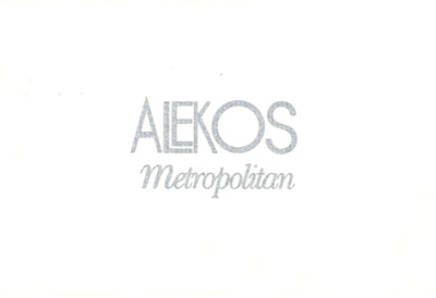 ALEKOS IN  74, METROPOLEOS STR.