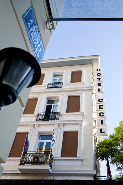 CECIL HOTEL  HOTELS IN  39, Athinas str.