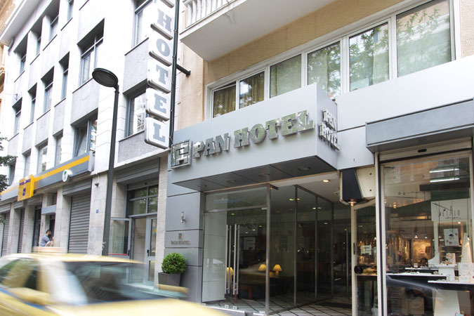 PAN HOTEL IN  11, Metropoleos Str.  SYNTAGMA - PLAKA