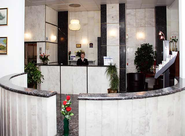 The Reception of Zinon Hotel CLICK TO ENLARGE
