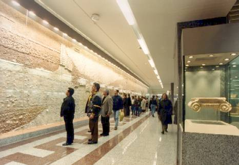 Syntagma metro station