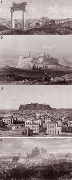 The most important travellers to Athens from the 15th to the 19th century and their famous Itineraries with their most wonderful etchings are displayed in this very interesting exhibition of the Museum of the City of Athens of the Vouros-Eutaxias Foundation in collaboration with the Organizing Committee of the Athens Olympic Games. The exhibition <b>Great Travelers in Athens, 15th-19th cent.</b> makes part of the official cultural program of Athens 2004 and runs through the end of the year. <br><br>