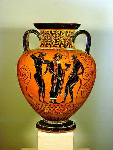 search about us links athens cycladic art museum black figure amphora