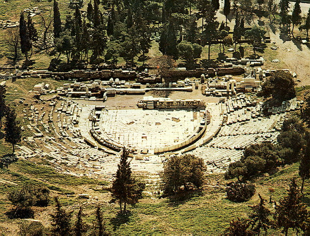 The theatre of dionysos - The south slope of the acropolis ...