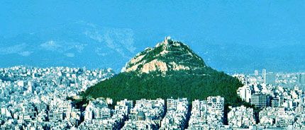 Art Car Museum >> Lycabettus hill Athens Greece