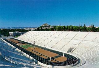 Panathenaic stadium Athens Greece