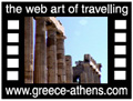 Travel to Athens Video Gallery  - Akropolis - A tour in the archaeological site of Akropolis, starting from Dionysos theater and ending on the sacred rock of Akropolis of Athens with Parthenon, Propylea and Erectheion.  -  A video with duration 1 min 57 sec and a size of 2323 Kb