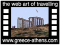 Travel to Athens Video Gallery  - Poseidon temple at Sounion - A tour at Poseidon temple at Sounion.  -  A video with duration 49 sec and a size of 633 Kb